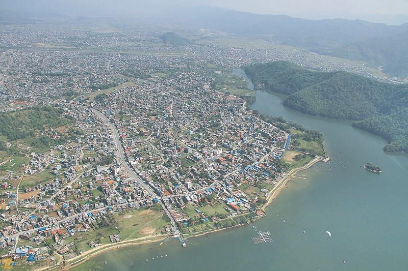 Pokhara_Ariel_View